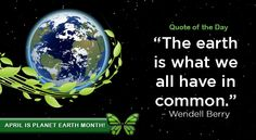 Planet Earth Month - April 2015