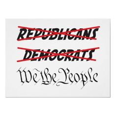"""Yes I LOVE THIS ----- YOU CAN'T LABEL ME WITH A POLITICAL STAMP---I AM AN AMERICAN AND I VOTE FOR WHAT'S RIGHT BE THAT PERSON  REPUBLICAN DEMOCRAT INDEPENDENT---IT HAS TO BE FOR AND ABOUT """"ALL"""" WE THE PEOPLE....."""