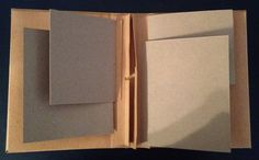 annes papercreations: How to make hinges, spines and binding for mini albums and journals. Floating hinges. BY Anne Rostad