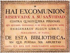 Cédula de excomunión de la Universidad de Salamanca.