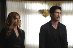 The family is played by Dylan McDermott (Ben Harmon), Taissa Farmiga (Violet Harmon) and Connie Britton (Vivien Harmon). Description from thehdroom.com. I searched for this on bing.com/images