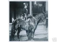 """Belle Starr, """"Queen of the Oklahoma Outlaws,"""" circa early 1880s."""