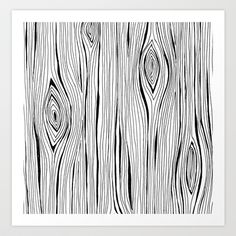 wood grain Art Print by stacey walker oldham - $17.68
