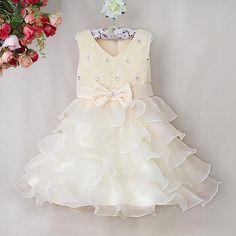 Nova Moda Infantil Vestido de Princesa Crianças Festa de Poliéster E Algodão Luz Amarela Rosa Vestidos de Bebê Meninas Usam GD31115-9