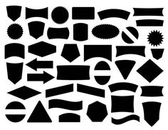 Free Label and Badge Vector Shapes - Free Vector Site | Download Free Vector Art, Graphics