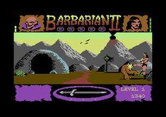 Axe of Rage (Barbarian Commodore 64