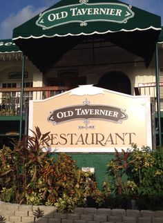 Old Tavernier Restaurant in The Florida Keys. It was recommended by a local and had AMAZING homemade pizza!