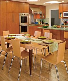 Kitchen Cabinets with Furniture-Style Flair - Traditional Home®