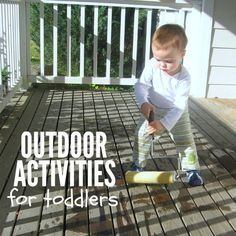 toddler activities outside