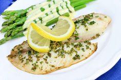 Lemon Garlic Tilapia. Simple & Flavorful 5 Ingredient #Recipe!