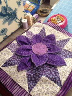 Amazing 3D quilt in your choice of fabric by DesignsByJudi2014 on etsy