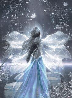 fairy dust on wings. Fairy Dust, Fairy Land, Fairy Tales, Magic Fairy, Fantasy Kunst, Fantasy Art, Fantasy Fairies, Fantasy Fiction, Elfen Fantasy