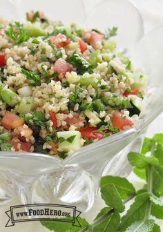 Tabouli (Ensalada de Trigo Bulgur) | Food Hero - Healthy Recipes that are Fast, Fun and Inexpensive