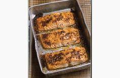 #Receta: Salmón al horno (cocción lenta) - Slow cooking Salmon >>>> http://www.srecepty.es/salmon-al-horno-coccion-lenta