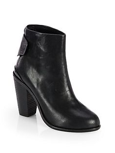 Rag & Bone Kerr Leather Ankle Boots $595. js