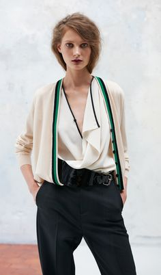 photography by eric guillmain for bouchra jarrar courtesy of style.com