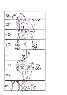 krokodil - puzzel