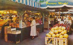 Farmer's Market - Los Angeles, California