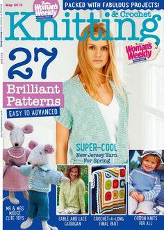 Knitting  Crochet  May 2016 - 轻描淡写 - 轻描淡写