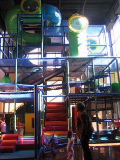 Playground for children's ministry - I'd love to have the space, money for this @Prov