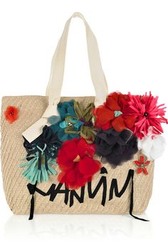 8fa7a7f15cc5 Lanvin - 22 Faubourg Cabas appliquéd cotton-canvas tote. Bag SaleFashion  HandbagsDesigner ...