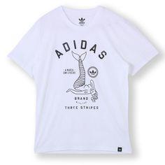 【公式】adidasアディダスオリジナルスTシャツ[MERMAIDTEE]メンズS23477