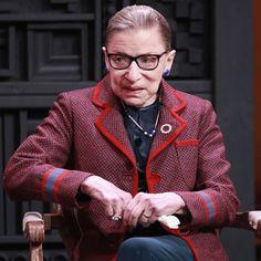 Ruth Bader Ginsburg spoke Sunday at the Sundance Film Festival to NPR's Nina Totenberg. Gloria Steinem, Feminist Quotes, Malcolm X, Ruth Bader Ginsburg, Sundance Film Festival, Girls Rules, Better Half, Great Women, Beautiful Long Hair