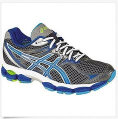 ASICS Womens GELCumulus 14 Running ShoeStormBrilliant BlueAqua6 M US -- You can find out more details at the link of the image.
