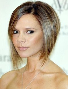 Short fine Hairstyles for Oval Faces