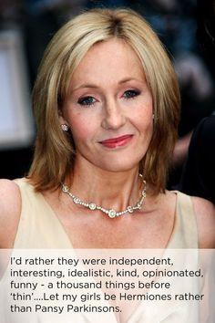 She values self-worth over everything else. | 22 Reasons To Worship JK Rowling #WiseSayingsIAdmire
