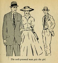 """The well-groomed man gets the girl."""