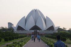 Der Lotustempel in Neu Delhi