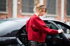 Maria Kolosova Milan Fashion Week.