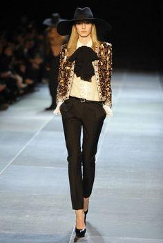 20 Looks by Fashion Designer Yves Saint Laurent Glamsugar.com Saint Laurent RTW Spring 2013