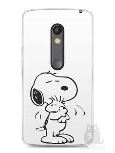 Capa Capinha Moto X Play Snoopy #3 - SmartCases - Acessórios para celulares e tablets :)
