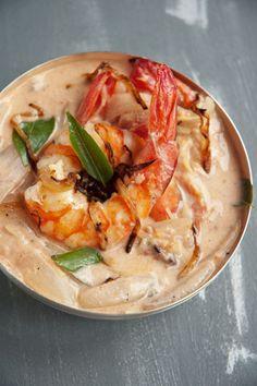 L'exotique curry de crevettes au lait de coco - émoi émoi