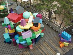 Vertical Village exhibition Seoul, TMCA MVRDV - The Why Factory