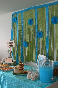 Adorable Under the Sea/Magical Mermaid party!  Love the creative details!!