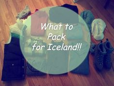 What to pack for Iceland! | In September.  And good info about possible(?) (lack of) availability of OTC meds.