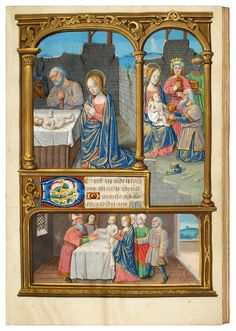 Book of Hours for Louis XII, use of Rennes   Dr. Jörn Günther