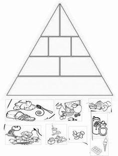 Nutrition World Chattanooga Info: 4212467486 Health Activities, Educational Activities, Preschool Activities, Farm Animals Preschool, Preschool Colors, Teaching Kids, Kids Learning, Food Pyramid Kids, Building Games For Kids