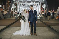 Bride & Groom | The Bridge Building | Nashville Wedding | Nashville Wedding Venue #exploreinfinitenashville