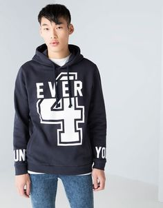 Bershka Netherlands - Sweatshirt print 4EVER