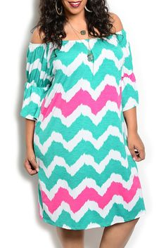 DHStyles Women's Green Fuchsia Plus Size Sexy Off Shoulder Chevron Party Dress - 3X Plus #sexytops #clubclothes #sexydresses #fashionablesexydress #sexyshirts #sexyclothes #cocktaildresses #clubwear #cheapsexydresses #clubdresses #cheaptops #partytops #partydress #haltertops #cocktaildresses #partydresses #minidress #nightclubclothes #hotfashion #juniorsclothing #cocktaildress #glamclothing #sexytop #womensclothes #clubbingclothes #juniorsclothes #juniorclothes #trendyclothing #minidresses…