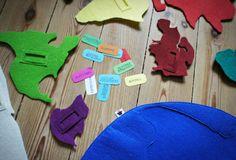 Pan Pepe z Pakamera. Cool Gifts For Kids, Best Gifts, Desserts, Crafts, Grandchildren, Montessori, Ruffles, Lace, Feltro