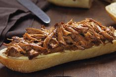 Slow-Cooker Orange-BBQ Pulled Pork Sandwiches recipe