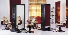 hair salon stations, styling stations, barber stations, hair stations