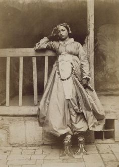 sealmaiden:Charles Lallemand ~Jewish girl from Damascus in full dress 1865