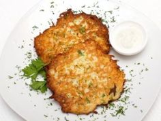 Clean eating Cauliflower Latkes! These are awesome! - BrookeFit.com