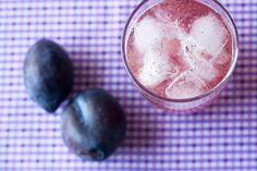 Plum Vanilla Soda by Isabelle @ Crumb, via Flickr
